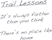 Trail Lessons