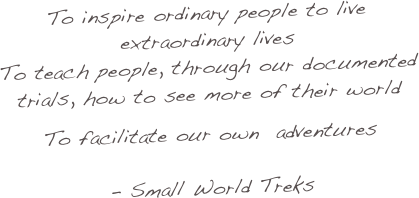 To inspire ordinary people to live extraordinary lives